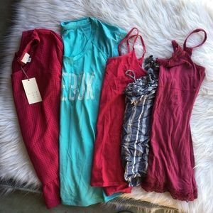 Hollister and other brands shirts bundle